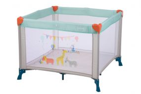 Safety 1st Campingbed Circus Playpen Happy Day