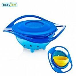 Babyjem Amazing Bowl Eetbakje 350 blauw
