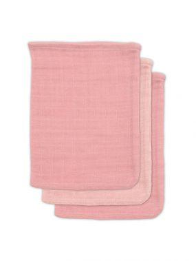 Jollein Bamboe Washandje Pale Pink 3 Pack