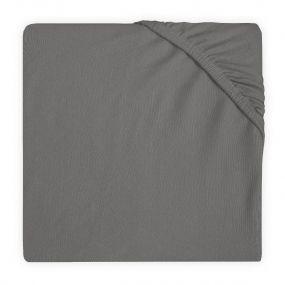 Jollein Hoeslaken Boxmatras 75 x 95 cm Storm Grey