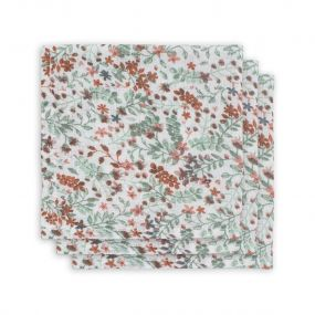 Jollein Monddoekjes Hydrofiel 3 Stuks Bloom