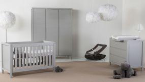 Quax Babykamer Stripes Griffin Grey