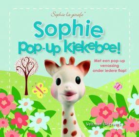 Sophie de Giraf Pop-up Boekje: Kiekeboe!