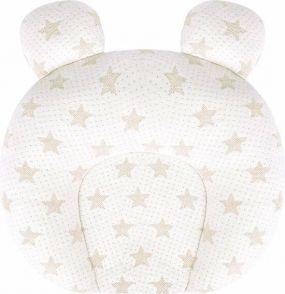 Cabino Baby Hoofdkussen Flat Head Sterretjes