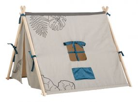 Life Time Speel Tent Dino Grijs