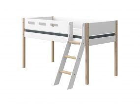 Flexa Nor Halfhoogslaper Met Schuine Ladder 90 x 190 cm