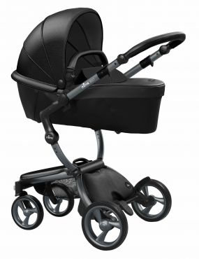 Mima Kinderwagen Xari Graphite Grey - Black