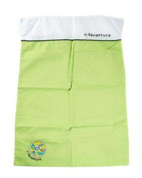 XAdventure Dekbedovertrek Wieg / Kinderwagen Lime