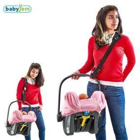 BabyJem Autostoel Draagriem Zwart
