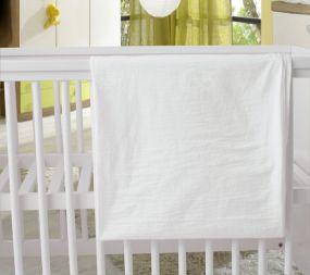 Babywellness Dekbedovertrek Ecru 100 x 135 cm