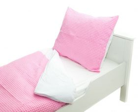 Babywellness Dekbedovertrek Honey Pink 120x150