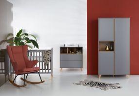 Quax Doorgroei Babykamer Loft Grey