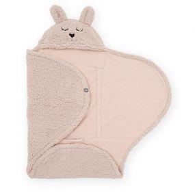 Jollein Wikkeldeken Bunny Pale Pink 100x 105 cm