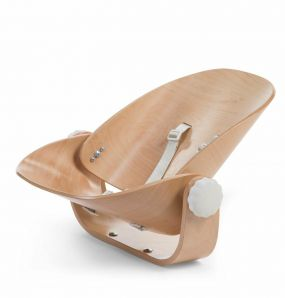 Childhome Kinderstoel Evolu Newborn Seat Naturel/Wit