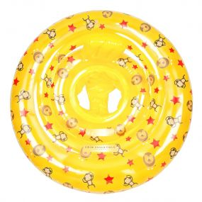 Swim Essentials Baby Float Circus 0 Tot 1 Jaar Geel