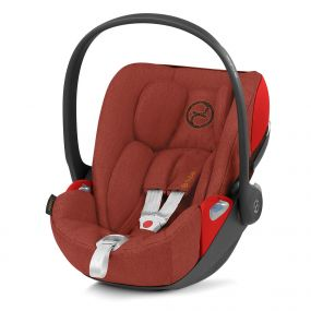 Cybex Autostoel Cloud Z I-Size Plus Autumn Gold - Burnt Red