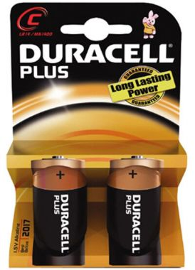 Duracell Batterijen C 2 Stuks