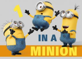Minions Vloerkleed One In A Minion