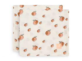 Jollein Hydrofiele Doek Peach 2 Stuks 115 x 115 cm