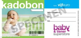 Kadobon 5 euro