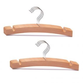Bebies First Kleerhangers Hout Naturel Set 10 Stuks