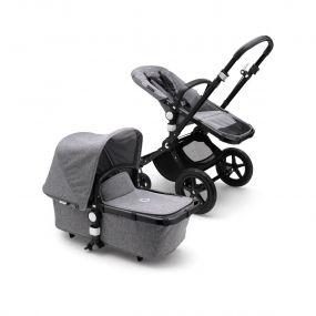 Bugaboo Kinderwagen 2in1 Cameleon3 Plus Black/Grey Melange