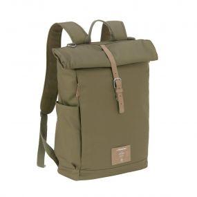 Lassig Backpack Rolltop Olive