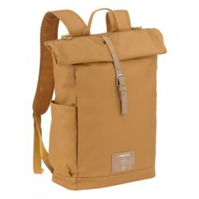 Lassig Green Rolltop Backpack Curry