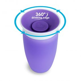 Munchkin Miracle Sippy Cup 360° Beker Paars