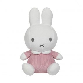 Nijntje Knuffel Baby Rib Pink 20 cm