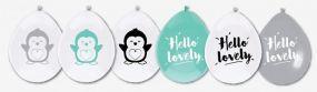 O'that Ballonnen Hello Lovely Pinguïn