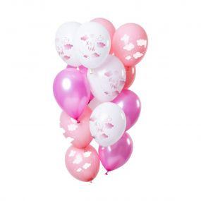 O'that Ballon Clouds Roze 12 st