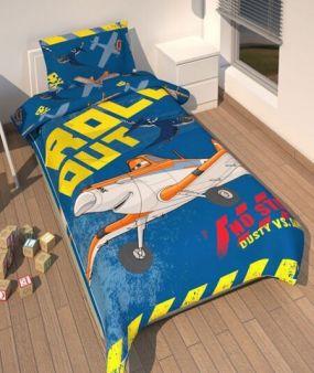 Planes Dekbedovertrek Roll Out 140 x 200 cm