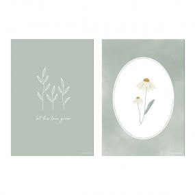 Little Dutch Poster A3 Wild Flowers