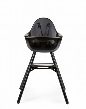 Childwood Kinderstoel Evolu 2 met Beugel Zwartl/Zwart