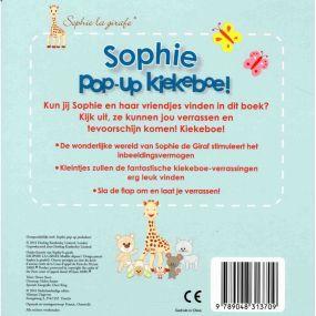 Sophie de Giraf Pop-up Boekje Kiekeboe