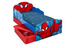 Spiderman Snuggle Time Bed Met Lades