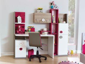 I.c.m. de boekenkast en wandkas (beiden los verkrijgbaar) een perfecte match!