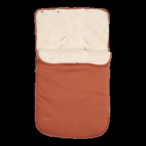 Little Dutch Voetenzak Autostoel 0+ Pure Rust