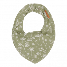 Little Dutch Bandana Slab Wild Flowers Olive