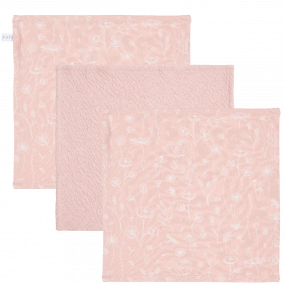 Little Dutch Monddoekjes Wild Flowers Pink