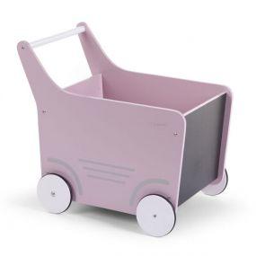 ChildhomeHouten Wandelwagen Roze