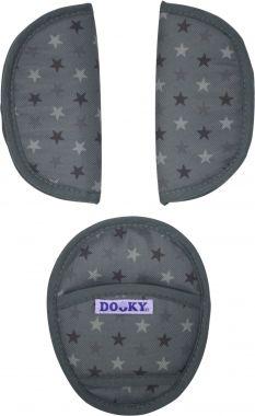 Dooky Gordelpads Grey Stars