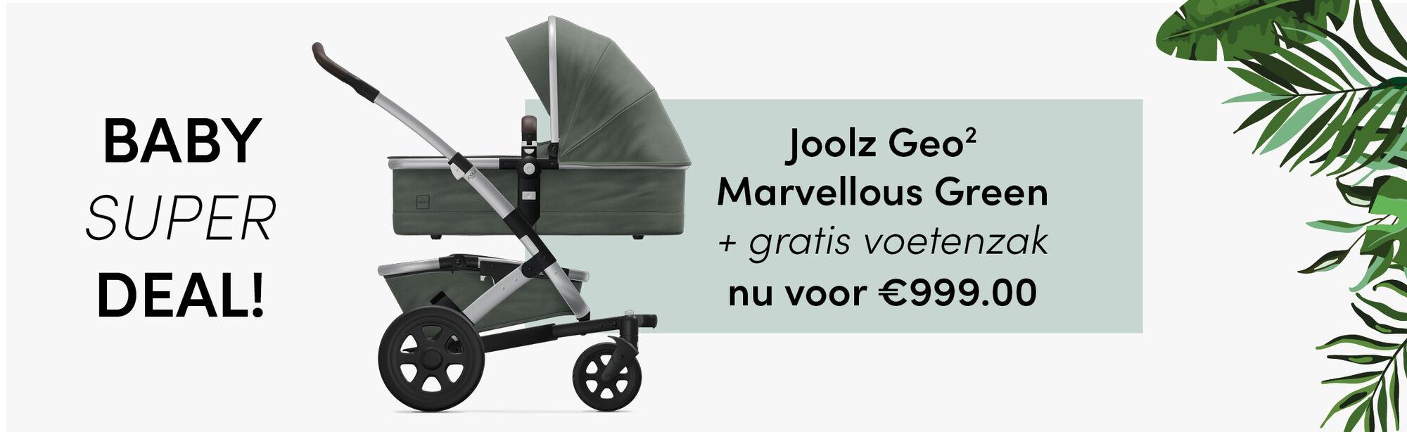 Joolz Geo2 Marvellous Green