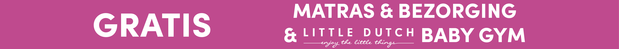Gratis Matras & Bezorging